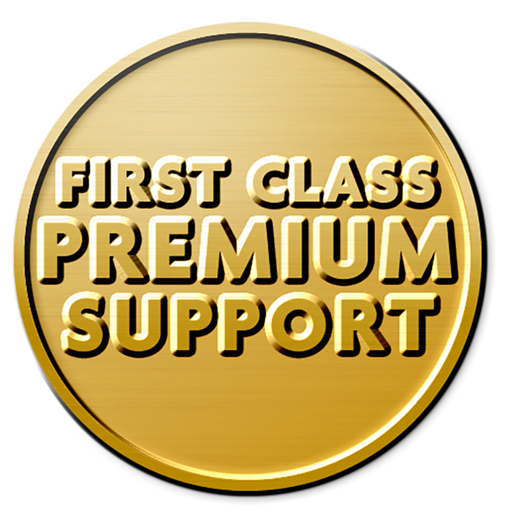 FIRST CLASS PREMIUM SUPPORT